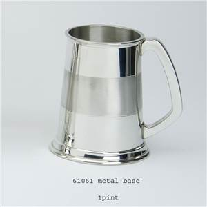 1 Pint Pewter Tankard with Sheffield - EBP-61061 by Edwin Blyde.