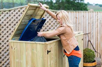 Wheelie Bin Screens and Stores