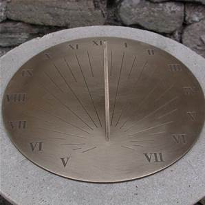 Sundials in Solid Brass from Border Sundials