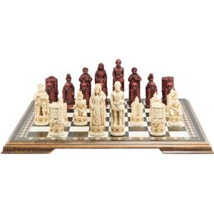"Shakespeare & the Globe 5.25"" King Size Chess Set"