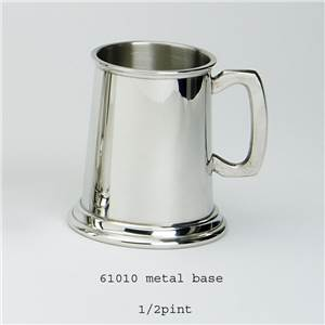 1/2 Pint Pewter Tankard - Plain - EBP-61010 by Edwin Blyde.