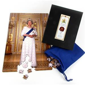 Queen Elizabeth's 90th Birthday Heirloom Wooden Jigsaw Puzzle - Limited Edition