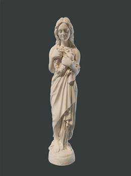Roman Spring Figure - Hand crafted in Gypsum Plaster in the UK