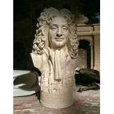 Sir Christopher Wren - Miniature Bust