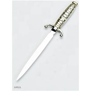 Pewter Letter Opener with Scotland Handle - EBP-18521 by Edwin Blyde.