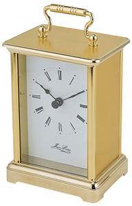 Carriage Clock - Gold Plated Roman Dial 1400