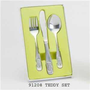 Pewter Cutlery Set Christening Gift