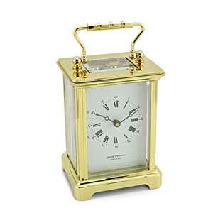 Obis Style Brass Carriage Clock - DP/OB