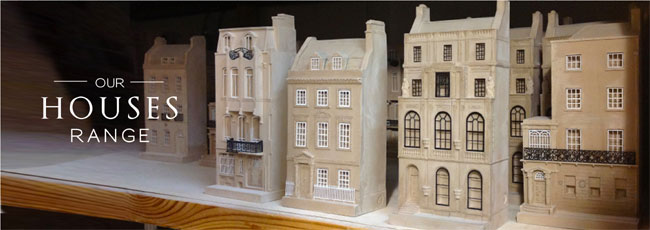 Models Of Famous House Facades