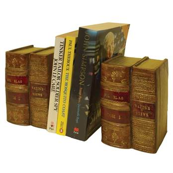 Double Book Bookends - Pair