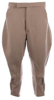 Traditional Cut Ladies Hunting Breeches in Bedford Cord