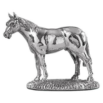 Horse Model Cast in Sterling Silver