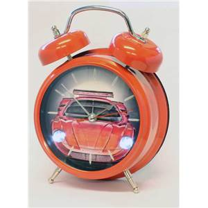 Sports Car Alarm Clock with Sound - Red IMP119R