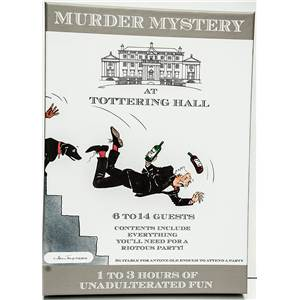 Who Murdered Lord Tottering, Murder Mystery game