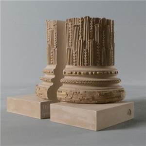 Palm Room Pillars Bookends
