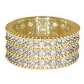 Triple Band Ring from George IV Diadem - Gold Plated