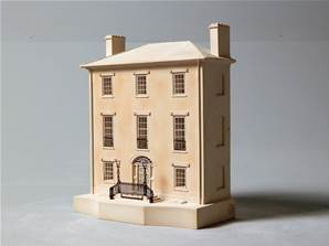 Decataur House - Model of the House Facade