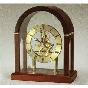 Arch Top Skeleton Mantel Clock from David Peterson SK13