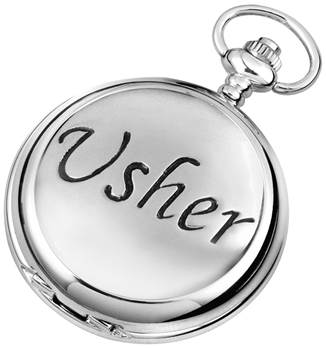 Usher Pocket Watch from Woodford - Full Hunter Case with Mechanical or Quartz Movenment 1888