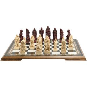 "Celtic & Viking 4.5"" King Size Chess Set"