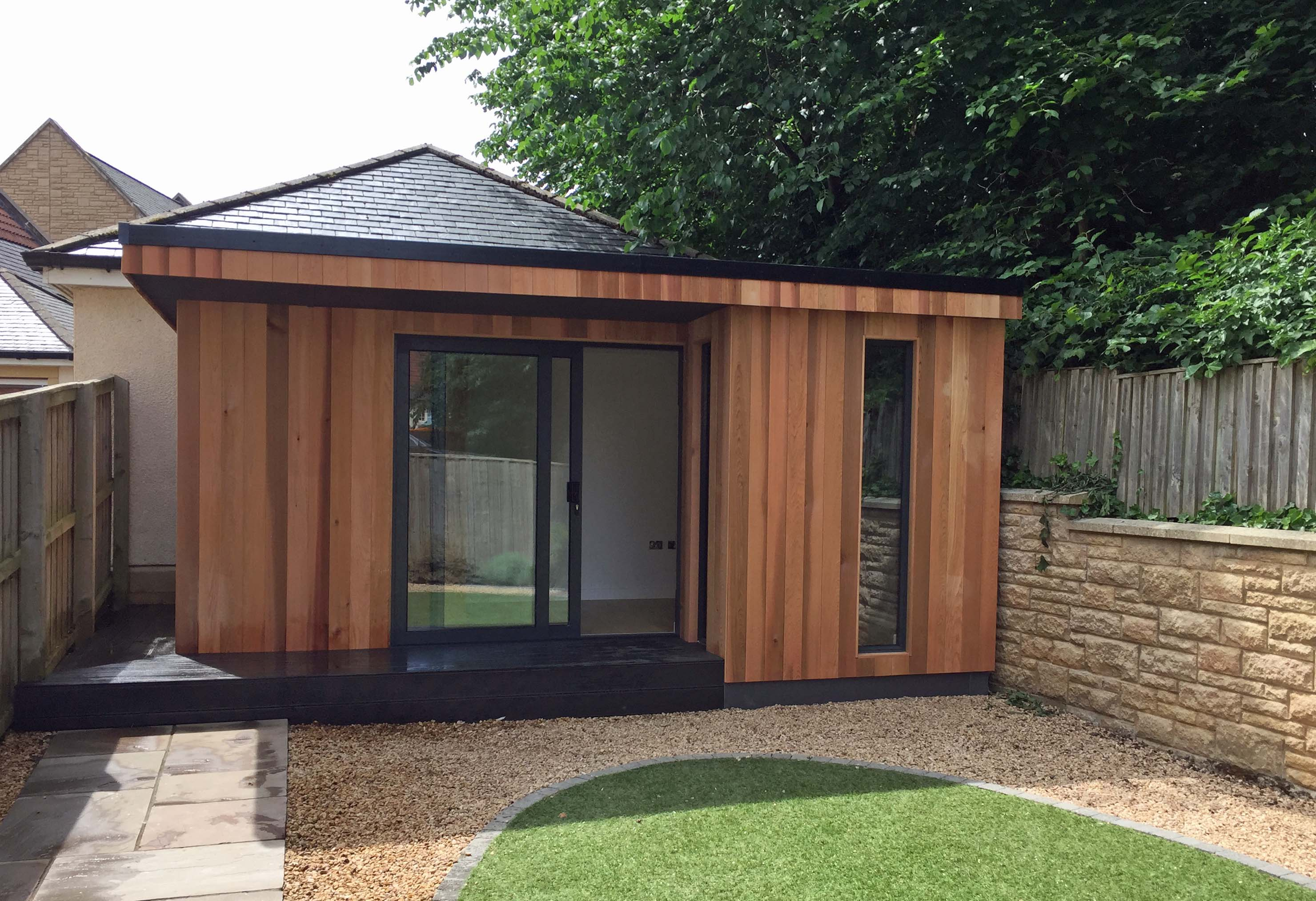 Extend your living space with modular units form modular for Modular garden rooms