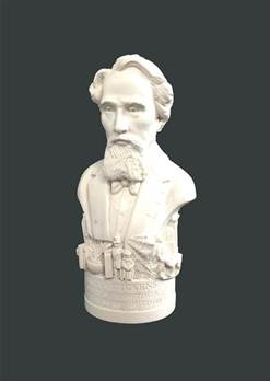 Bust of Dickens