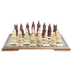 "Medieval Cathedral 5.25"" King Size Chess Set"