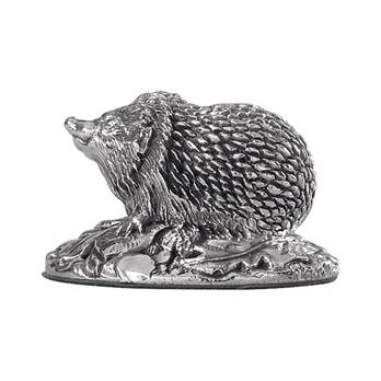 Hedgehog Model in Sterling Silver