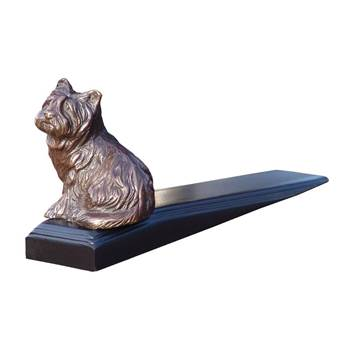 Bronzed Westie Door Wedge