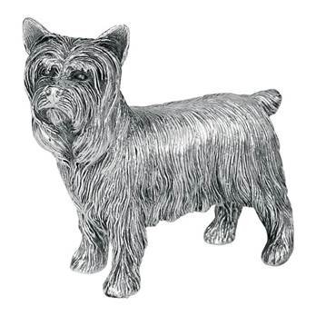 Sterling Silver Yorkshire Terrier Model 7,1cm hight - HBH-9205