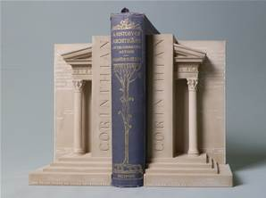 Corinthian Pillars - Bookends