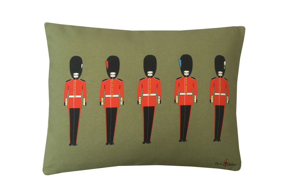 Guards Regiments Silhouette Cushion Covers