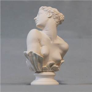 Bust of George Frederick Watt's interpretation of Clytie - Hand crafted in Gypsum Plaster in the UK