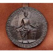 Magna Carta Seal - Commemorative Plaster Reproduction