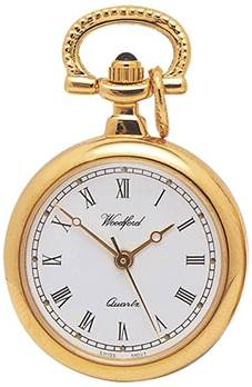 Quartz Pendant Watch on Chain 1217 Gold Plate