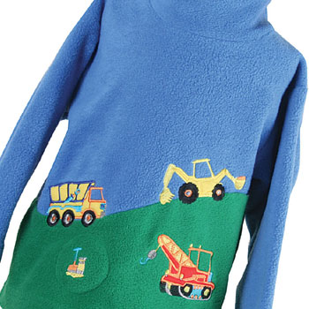 Embroidered Children's Tops - UK Made