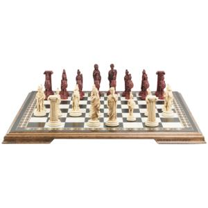 "Roman 4"" King Size Chess Set"