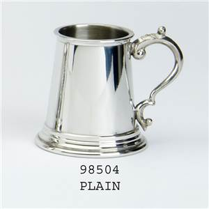 Pewter Plain Child's Can - EBP-98504 by Edwin Blyde.