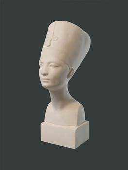 Nefertiti - Hand Made Model in Gypsum Plaster