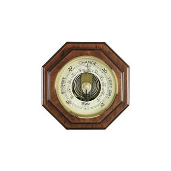 Veneered Barometer 1612 Octagonal case