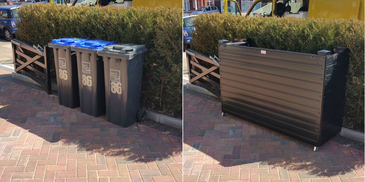 3 Great Ways To Hide Those Unsightly Wheelie Bins