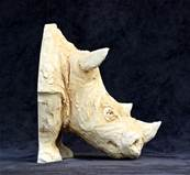 African Rhino Model by Alan Dun & Timothy Richards