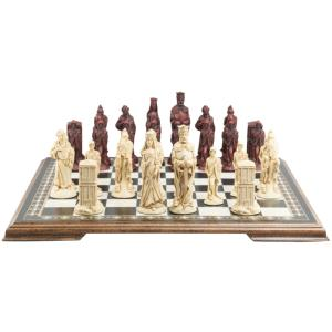 "King Arthur & Camelot 5.5"" King Size Chess Set"