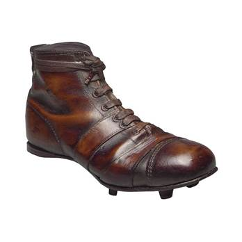 Old-fashioned Football Boot Door Stop