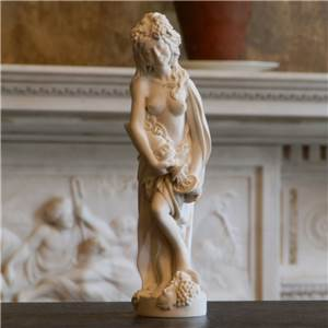 Roman Autumn Figure Model - Hand crafted in Gypsum Plaster in the UK