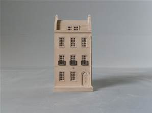 Charles Dickens House - Model of House Facade